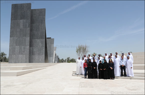 Etihad Rail employees visit Wahat Al Karama