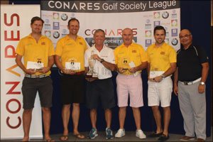 KEGS Crowned 2017 Conares Golf Society League Champions