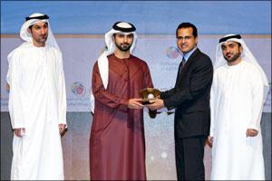 Global Village's award for Media Excellence, and Mostafa Abdul Azim won Global Village's award for M ...