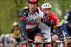 Top Ten Finish for UAE Team Emirates' Diego Ulissi at 81st La Fl�che Wallonne