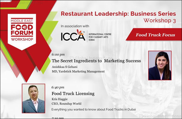 Middle East Food Forum to host its third Restaurant Leadership Business Series Workshop