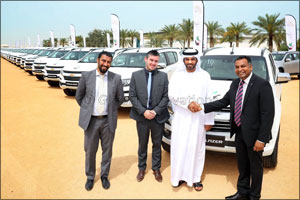 Al Ghandi Auto Inks Landmark Deal with Dubai Camel Racing Club for the Sale of 112 Chevrolet Vehicle ...