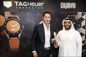 TAG Heuer announces its partnership with Dubai at Arabian Travel Market 2017