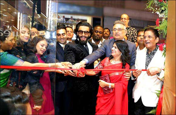 Kanz Jewels Meena Bazaar showroom Inaugurated by Bollywood Superstar Ranveer Singh
