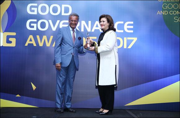 Jawaher Al Qasimi Receives Prestigious 3G 'Global Good Governance' Philanthropy Award