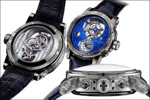 Louis Moinet Space Mystery � The Key to Cosmic Secrets!