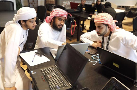 "UAE Students Take Part in ""Capture the Flag"" Competition"