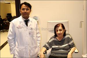 Syrian Patient Gets Her Vision Back at RAK Hospital