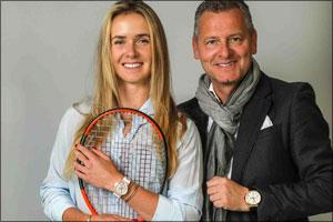Elina Svitolina : Ulysse Nardin Ambassador of Elegance