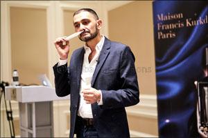 Maison Francis Kurkdjian Launches �Oud Satin Mood Extrait de Parfum' at Paris Gallery