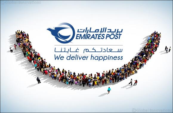 Emirates Post Begins Project of Giving New Look to All Post Offices Under 'We Deliver Happiness' Theme
