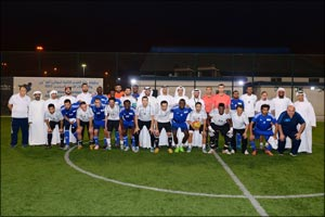 Abu Dhabi Ports Football Tournament Closes With ADNOC Champions