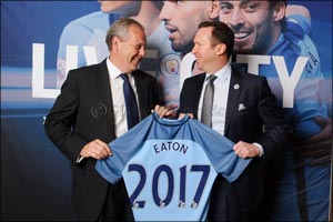 Power Management Company Eaton Kicks Off Partnership with Manchester City Football Club