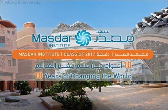 Masdar Institute to Host Seventh Commencement Ceremony on 17 May