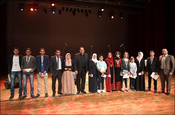 Afaf Sharif Crowned Winner of Arab Reading Challenge in Palestine