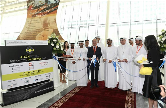 H.E. Hussain Ibrahim Al Hammadi Inaugurates ATech World Conference & Exhibition & World Game Expo 2017