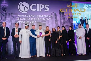 Etihad Aviation Group is a Triple Winner at CIPS Middle East Awards