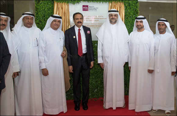 Crown Prince and Deputy Ruler of Sharjah inaugurate the new Medcare Hospital in Sharjah