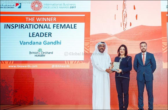 British Orchard Nursery Wins 3 Coveted Awards at Dubai's Premier International Business Awards