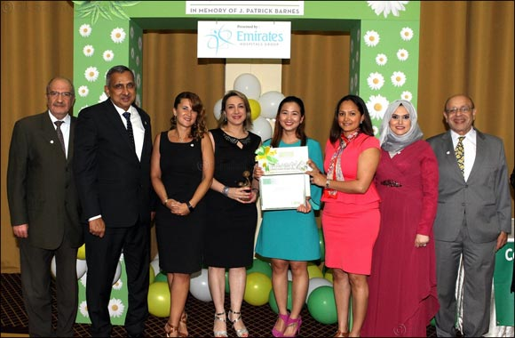 Emirates Hospitals Group Nurses Honoured with Prestigious DAISY Award 2017