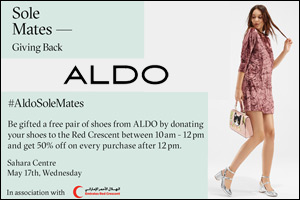 Aldo Solemates Red Crescent event - 17th May, 2017