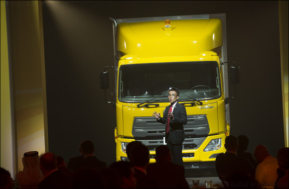 UD Trucks Launches Croner in the Middle East