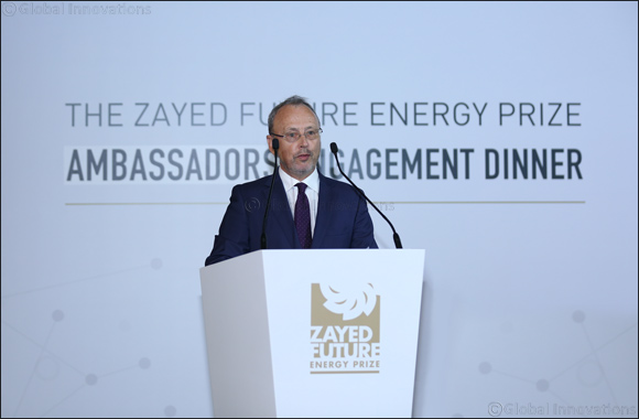 Zayed Future Energy Prize Engages Ambassadors' Support to Enhance International Outreach