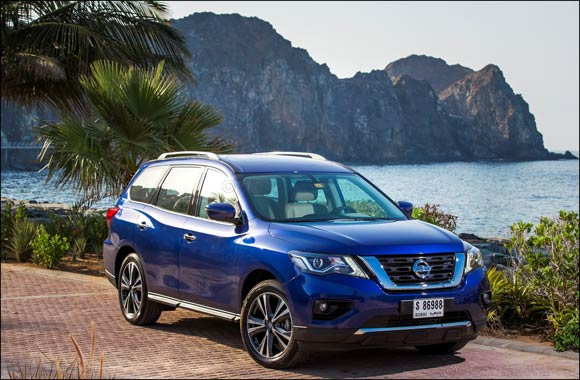 2018 Nissan Pathfinder Ups Adventure-Ready Credentials with Refined Styling & Design, Enhanced Performance and Advanced Driving Experience