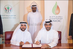 Sharjah National Oil Corporation and Sharjah Electricity and Water Authority Sign Gas Sales Agreemen ...