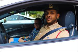 Dubai Police Partners with 360VUZ to Make the Dream of 5 Children Come True