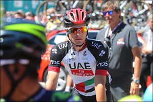 11th Place for UAE Team Emirates' Polanc at Stage 15