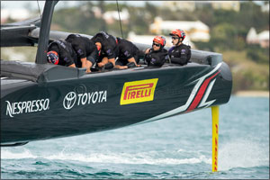 Pirelli sets sail for America's Cup 2017 adventure with Emirates New Zealand