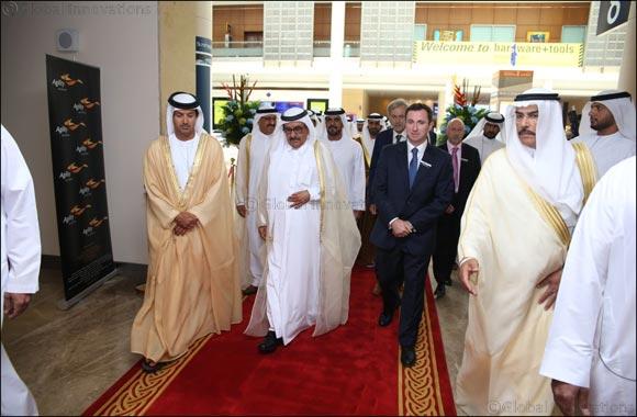 H.H. Sheikh Hamdan bin Rashid Al-Maktoum, Deputy Ruler of Dubai and UAE Minister of Finance launches INDEX & Middle East Stone