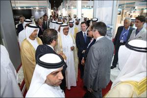 H.H. Sheikh Hamdan bin Rashid Al-Maktoum, Deputy Ruler of Dubai and UAE Minister of Finance launches ...