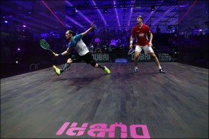 Former World Number Ones Gaultier, Ashour, Elshorbagy and Willstrop to Meet in Dubai World Series Fi ...