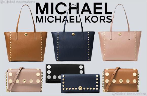 MICHAEL Michael Kors Rivington Stud Handbags