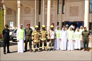 EPG holds fire drill at Sharjah Central Post Office