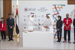 Etihad Airways Announced as Official Airline Partner of the 2019 Special Olympics World Summer Games