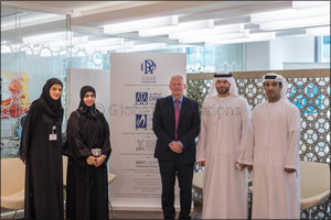 DIFC Wills & Probate Registry welcoming the team from the Abu Dhabi Judicial Department