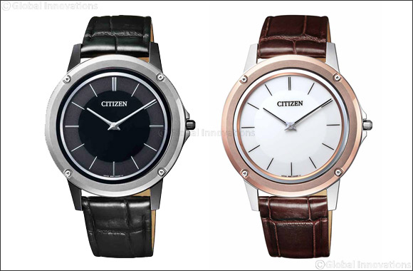 Citizen Presents Three Stunning Unique Models of the Eco-Drive One, The World's Thinnest Watch