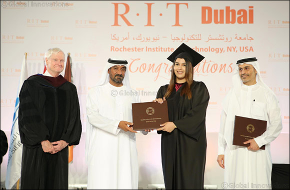 His Highness Sheikh Ahmed bin Saeed Al Maktoum Attends Graduation Ceremony of Sixth Batch of Students of RIT-Dubai