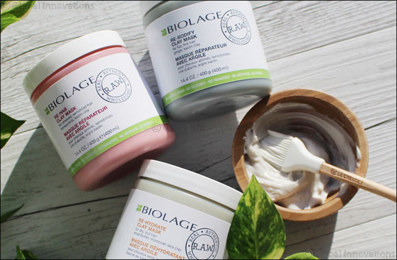 A Whole New Concept in Natural Hair Care, Introducing the All New Biolage Raw.