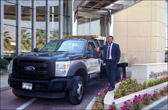 Al Tayer Motors Ford F-550 Delivery Vehicle Drives more than a Million Kilometres in 2014 days