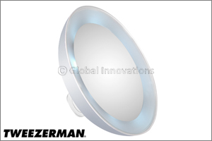 Tweezerman's new must-have LED Mini Mirror in every beauty bag
