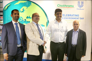 Choithrams partners with Unilever to celebrate World Environment Day on June 5
