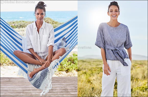 A cool and comfortable summer with Marks & Spencer's linen collection