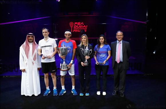 Massaro and Elshorbagy Triumph in PSA Dubai World Series Finals