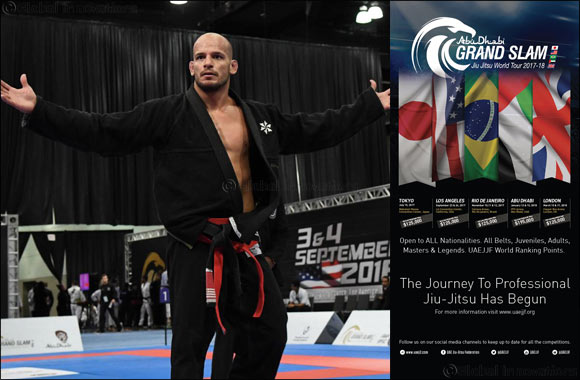 Cash Prizes of $800,000 at the Abu Dhabi Grand Slam® Jiu-Jitsu World Tour Season 3 [2017-18] Will Help Make a Change