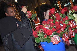 �1 Million Roses for the Love of the Prophet (PBUH)� campaign concludes at Abu Dhabi's Al Wahda Mall