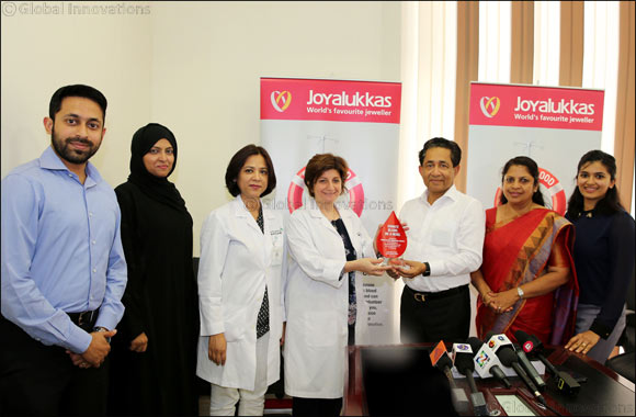 Joyalukkas conducts 75th Blood Donation Camp